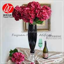 140580 Factory direct china export cheap nice wedding decorating artificial wholesale silk flower hydrangea