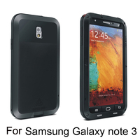 Fashional design metal gorilla case for Samsung with different colors use for Galaxy note 3 iii N9000
