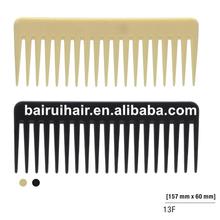 professional plastic wide tooth hair comb shampoo comb hair comb