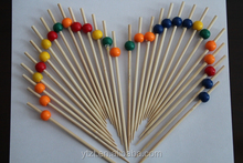 2015 Hot Selling reusable bamboo party pick for party food decoration for sale