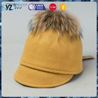 Best selling warm hand knitted winter hats wholesale price