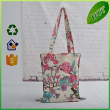 Customized cotton canvas tote bag/cotton bags promotion/Recycle organic cotton tote bags wholesale