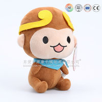 factory direct custom plush toy,Chinese manufacture cute monkey