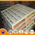 Heavy duty palete de aço de armazenamento de metal transpallet
