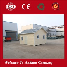 ANLI PLASTIC cheap living container cheap prefabricated house wheels
