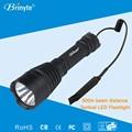 Brinyte B58U poder más elevado impermeable policía LED antorcha
