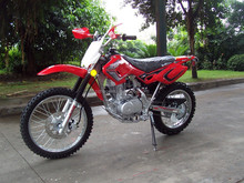 Newly Red dirt motorcycle 125cc