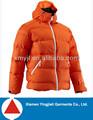 marca caliente abajo chaqueta para los inviernos oem ropa de esquí