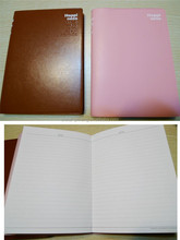 Chinese Factory custom cheap A5 leather notebook with elastic closure
