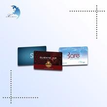 High end store advertisement metro pvc card