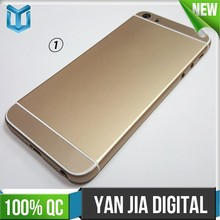 Mobile phone housing for iphone 5 24k gold plating back cover