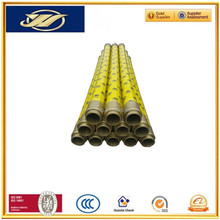 export quality concrete pump parts rubber hose DN125/ 3meters irrigation pipes agricultural irrigation pipe