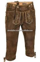 Bundhosen corto, o trachten bundhosen de baviera, bundhosen pantalones cortos