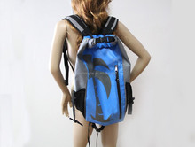 Light weight two shoulder strap dry bag/Outdoor Waterproof Dry Bag