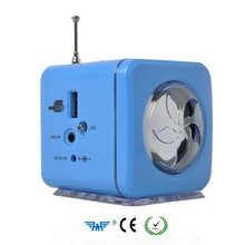 Mini small audio, multi-functional portable card speakers, radio mp3 player outside put small speakers