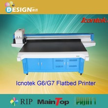 Perfect for production work!!! Using high resolution SPT 1020 printhead G7 Flatbed Printer