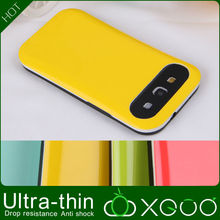 fake model PC with silicone for galaxy s3 ultra-thin hard cover case