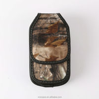 Fashion Camouflages Design Universal PU Leather Mobile Phone Pouch Bag for iPhone 4