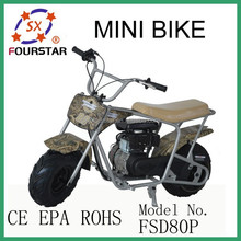 Improved CE Approved 80cc mini bike FSD80P for Whole Sale