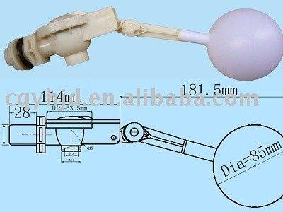 """3/4 """" válvula de flotador para depósito de agua ( flotador válvula de bola )"""
