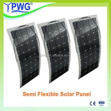 100w semi fexible solar panel price