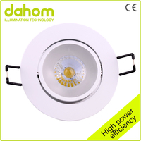 Low Consumption PMMA 3w Decorate Adjustable Cob Led Reflector for Ceiling Light
