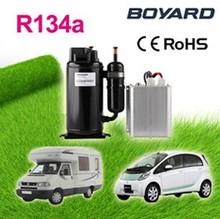air conditioning electric ac compressor for car with R134a bldc kompressor