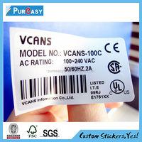 PVC waterproof permanent electronic shelf label 2015 for supermarket