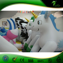 2015 Marvelous Inflatable Unicorn ,Giant Inlfatable Animals For Sale