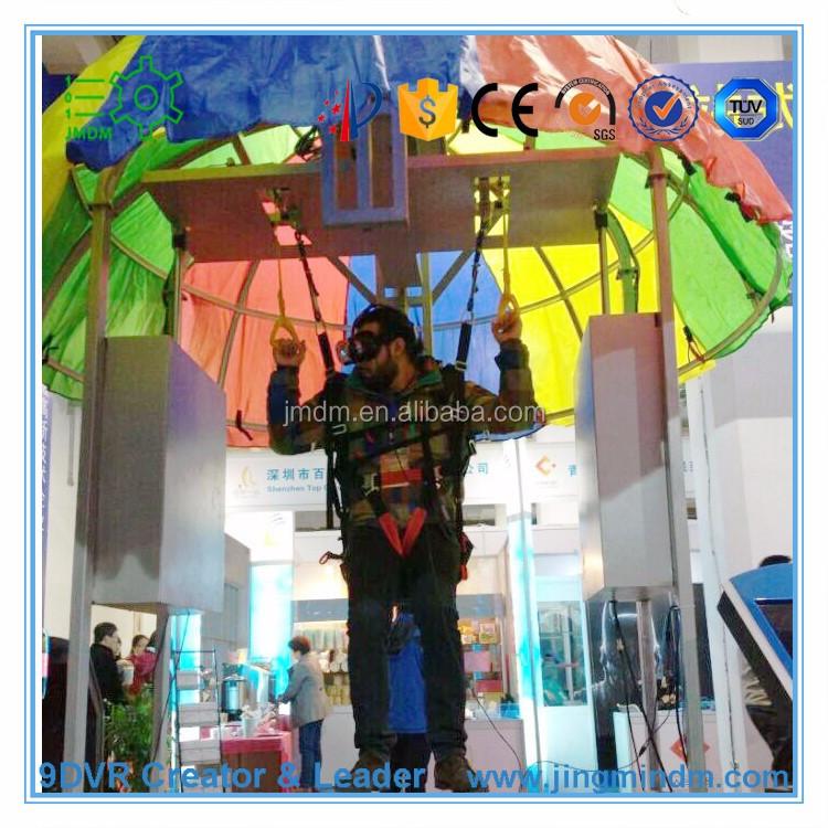 9d le parachutisme simulateur de r alit virtuelle cin ma parc d 39 attractions machine autres. Black Bedroom Furniture Sets. Home Design Ideas