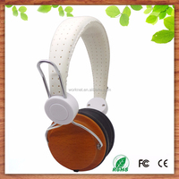 high bass best selling handmade craft wood computer headphone with microphone