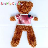 Semifinished Plush bearskin Semi-finished Classic toys plush toy animal doll Teddy Bear 70cm