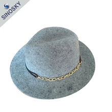 Promotional best quality women church hats wholesale