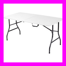 6' Foot Indoor Foldable Design Leight Weight Portable HDPE Resin Tables