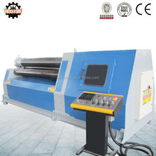 HOSTON W12 multi function steel plate roll forming machine with pre-bending& plate rolling