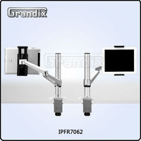 Universal rotatable aluminum desktop holder stand for ipad 2