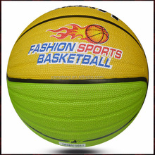 soft colorful rubber standard basketball size 7 wholesale