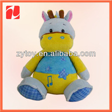 Promotional plush fox toy for 2014 world cup