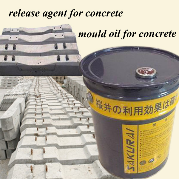 Concrete Release Agent : Cement pipe concrete mould release agent for factory
