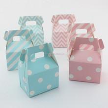 Wedding Party Favor Gable Paper Box Birthday Baby Shower Favor Candy Gift Box