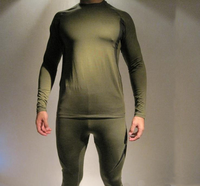 Winter men quick-drying tight thermal underwear suits super light comfortable fleece underwear