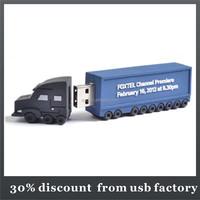 class 8GB truck shape pvc 3.0 usb flash drive