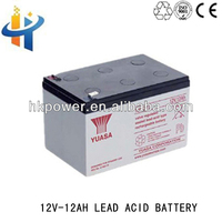 12V 12AH vrla battery, deep cycle rechargeable ups ,12V back up battery