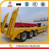 Shandong Chengda factory 3 axle 60ton lowboy heavy equipment trailer