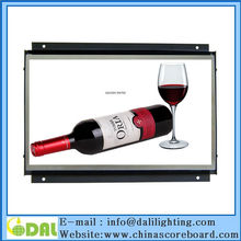 7 8 10 11.6 15.6 inch open frame lcd ad supermarket