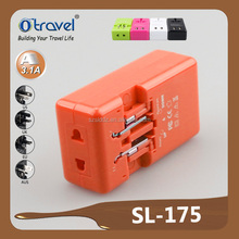 The Cheapest travel adapter plug korea with CE Rohs certificate