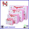 Dongguan factory Haiying oem eco packaging carry tote paper set bag