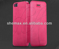 2014 New Design Western Cell Phone Cases Flip Case For iphone 5g 5c Wallet Bag