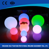 New deisgn various color rechargeable battery operated ball light