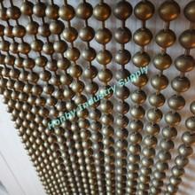 Nightclub decorative hanging bead room divider